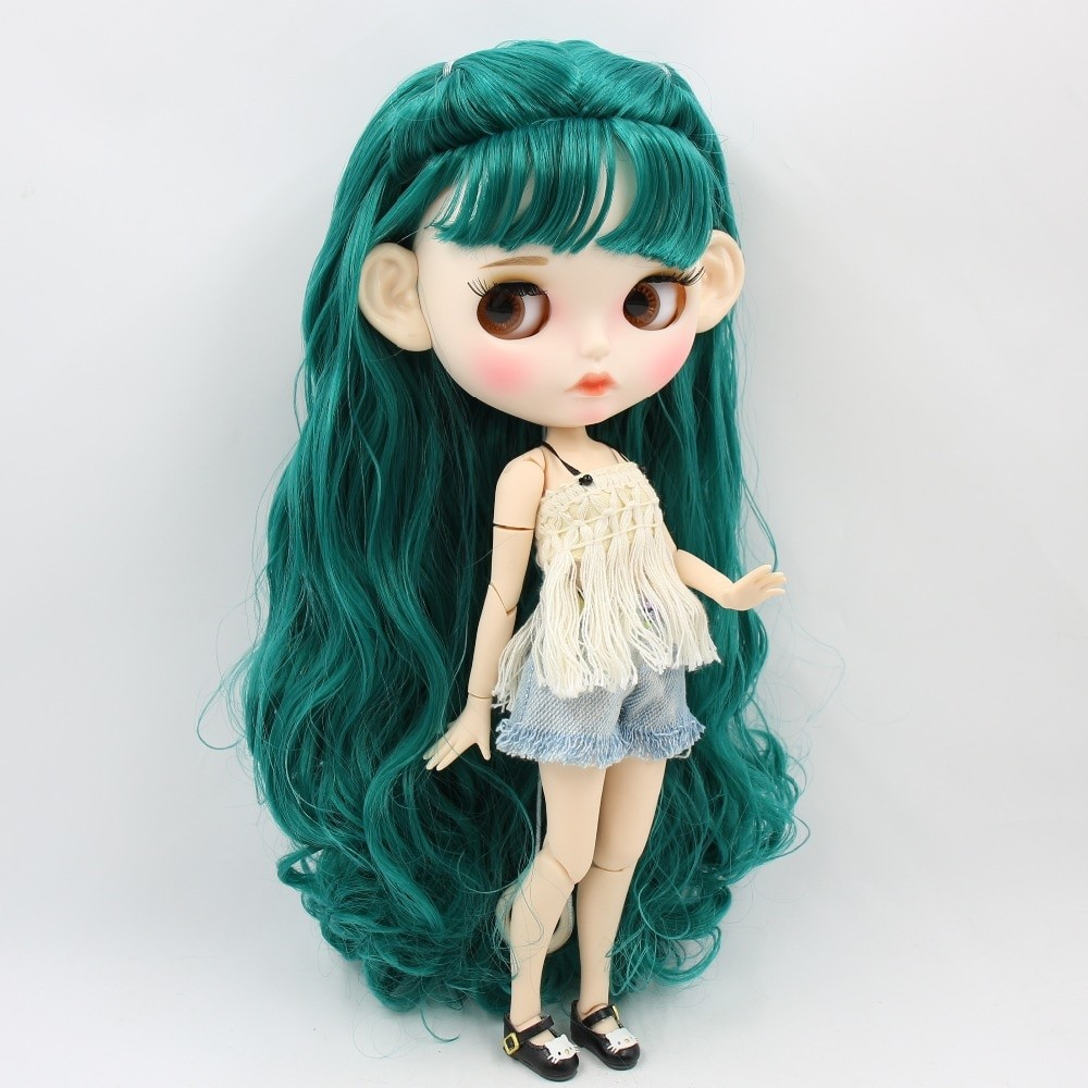 Finley – Premium Custom Blythe Doll with Clothes Pouty Face Pouty Face Premium Blythe Dolls 🆕