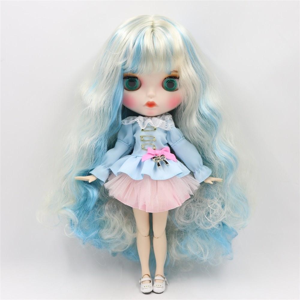 Josie – Premium Custom Blythe Doll with Clothes Pouty Face Pouty Face Premium Blythe Dolls 🆕