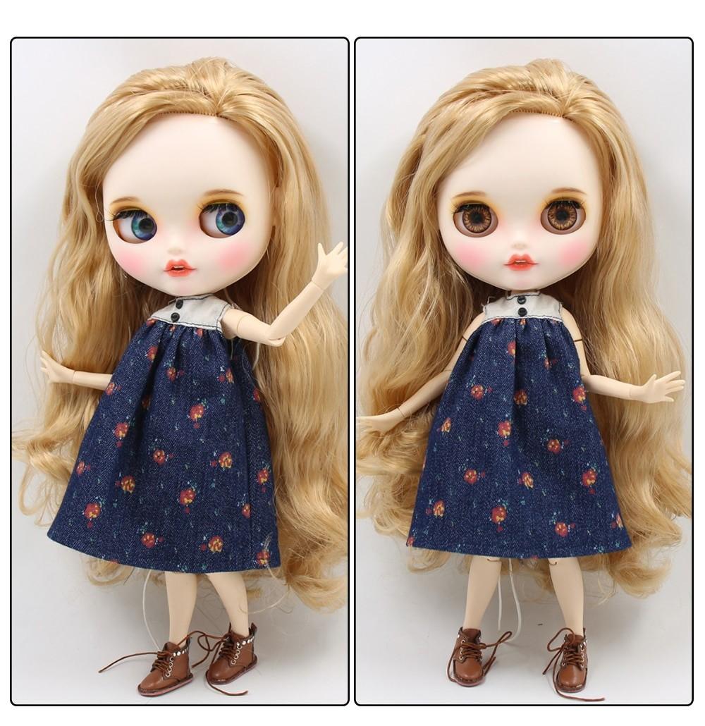 Nova - Premium Custom Blythe Doll with Clothes Smiling Face Premium Blythe Dolls 🆕 Smiling Face