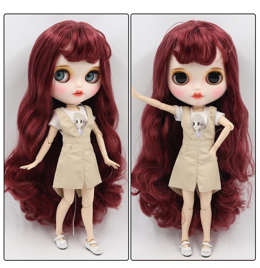 Clara - Premium Custom Blythe Doll with Clothes Smiling Face Premium Blythe Dolls 🆕 Smiling Face