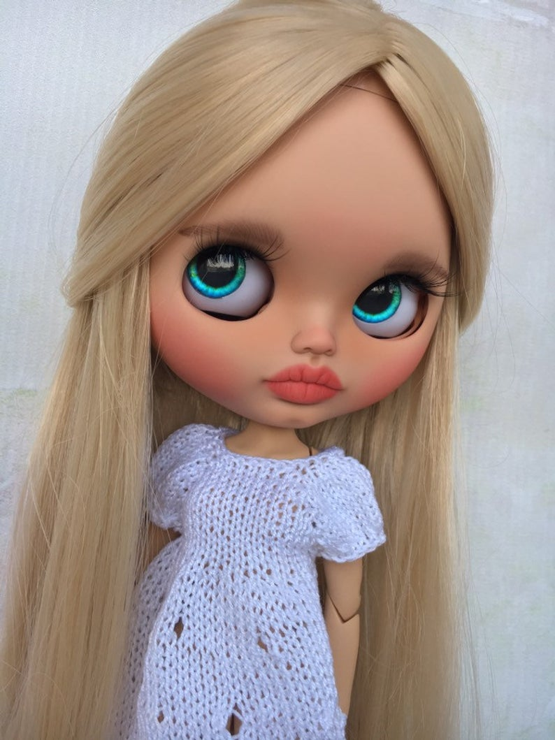Trixie - Custom Blythe Doll One-Of-A-Kind OOAK Sold-out Custom Blythes