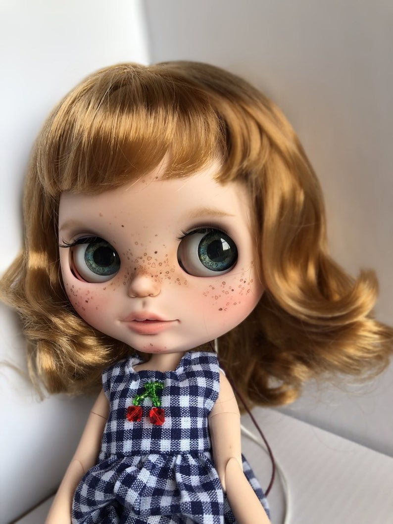 Carlota - Custom Blythe Doll One-Of-A-Kind OOAK Sold-out Custom Blythes