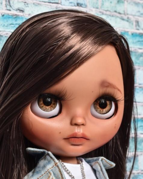 Carmen - Custom Blythe Doll One-Of-A-Kind OOAK Sold-out Custom Blythes