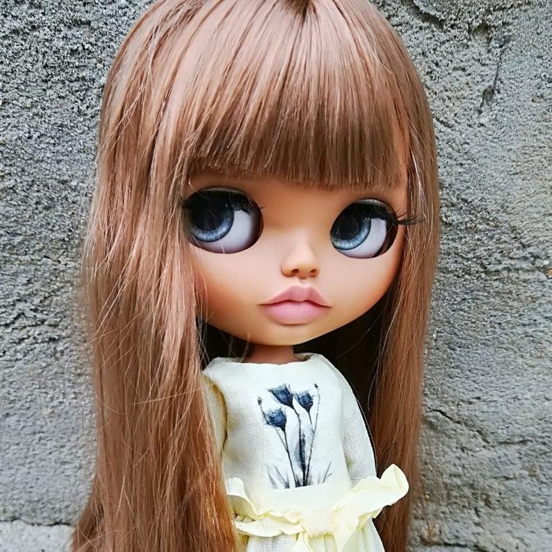 Caroline - Custom Blythe Doll One-Of-A-Kind OOAK Sold-out Custom Blythes