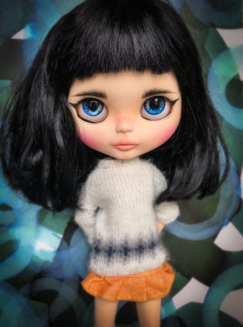 Miyu - Custom Blythe Doll One-Of-A-Kind OOAK Sold-out Custom Blythes