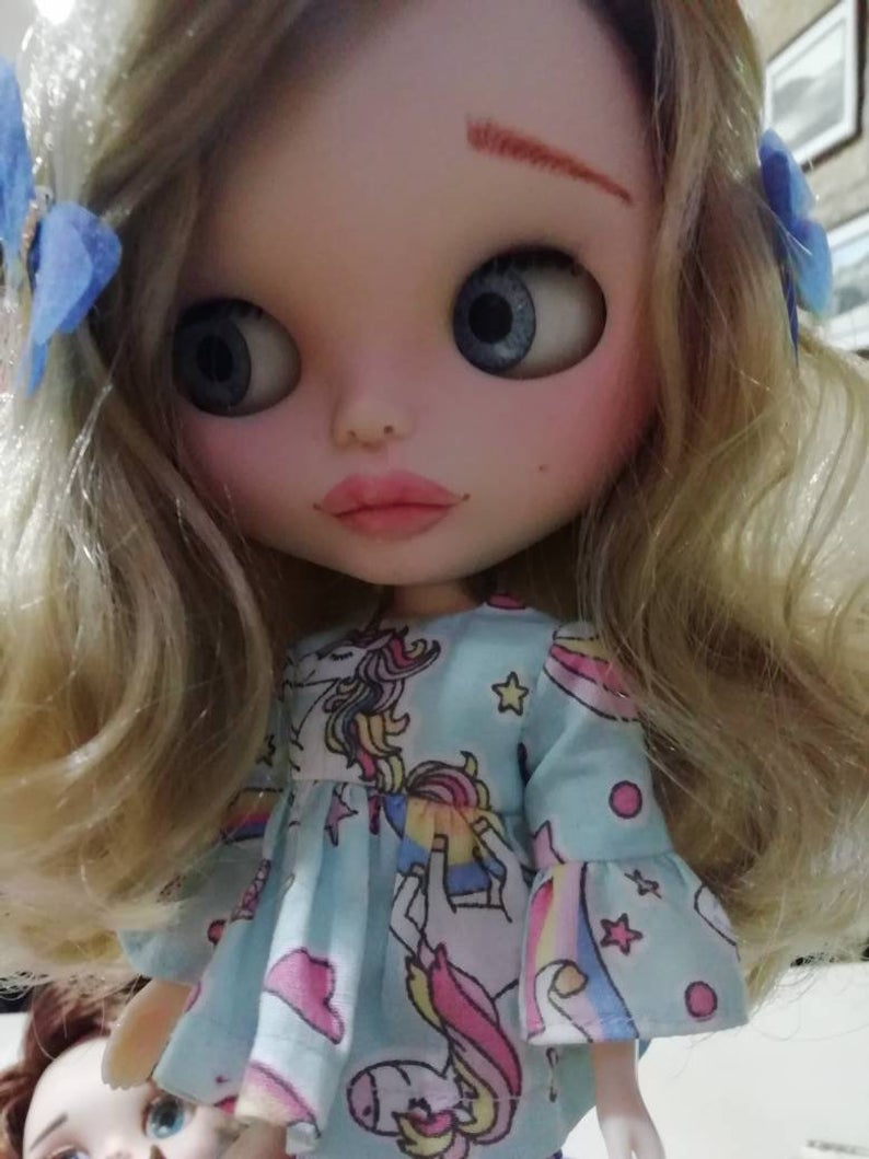Claudine - Custom Blythe Doll One-Of-A-Kind OOAK Sold-out Custom Blythes