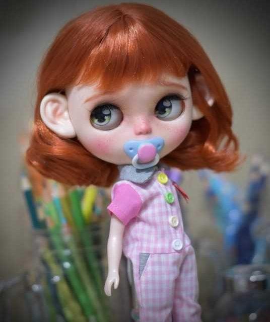 Daniela – Custom Blythe Doll One-Of-A-Kind OOAK