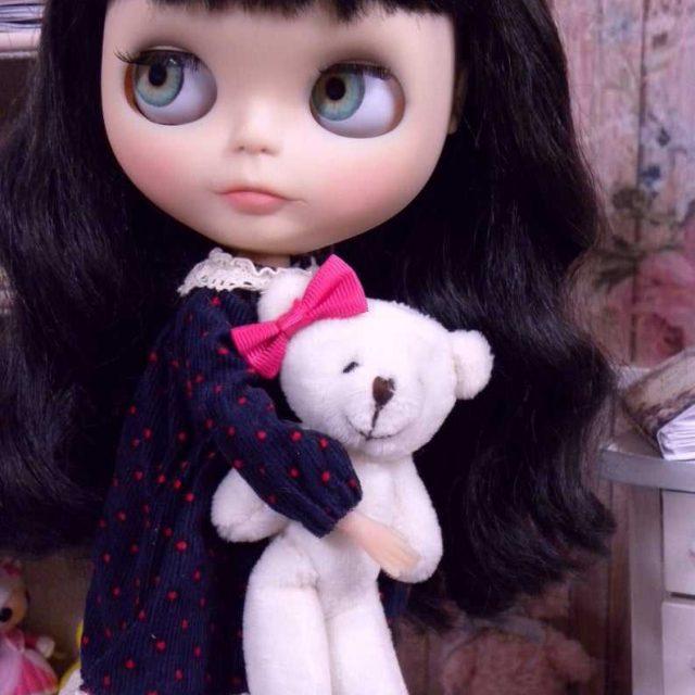 Minnie – Custom Blythe Doll One-Of-A-Kind OOAK