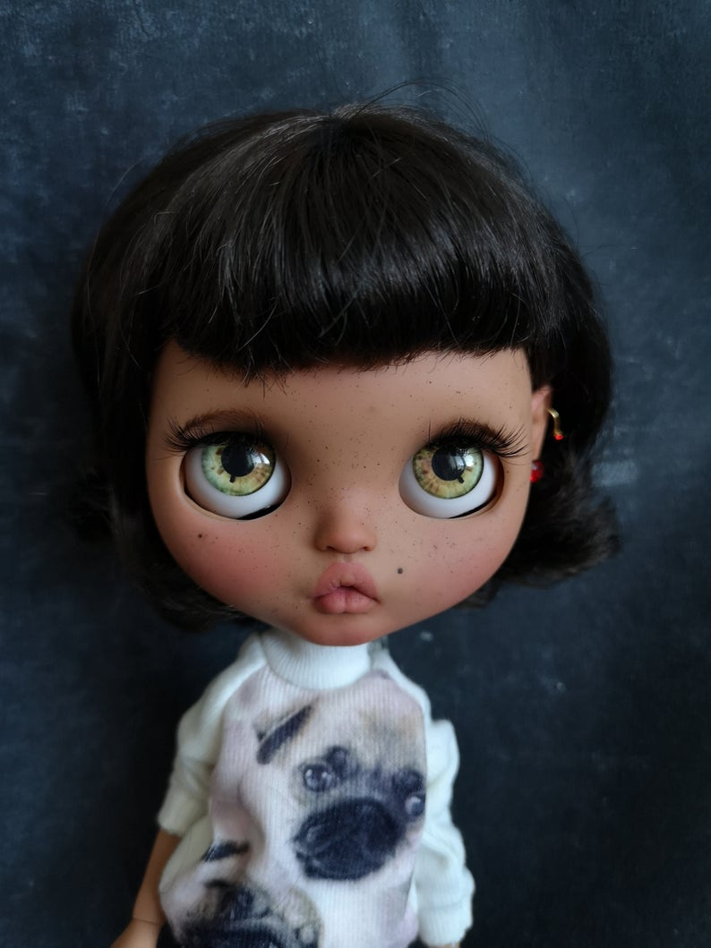 Shy - Custom Blythe Doll One-Of-A-Kind OOAK Sold-out Custom Blythes