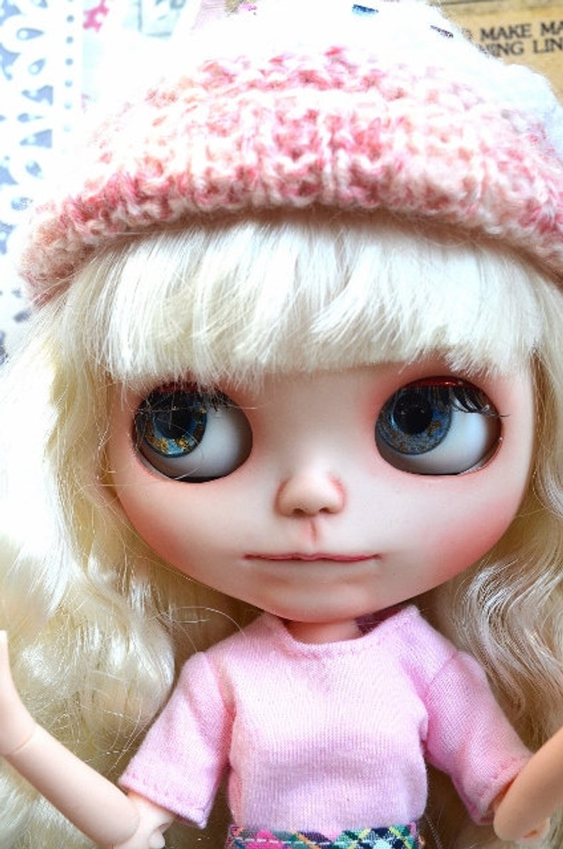 Cupcake - Custom Blythe Doll One-Of-A-Kind OOAK Sold-out Custom Blythes