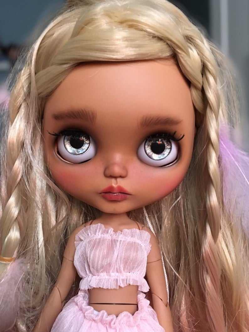 Summer - Custom Blythe Doll One-Of-A-Kind OOAK Sold-out Custom Blythes