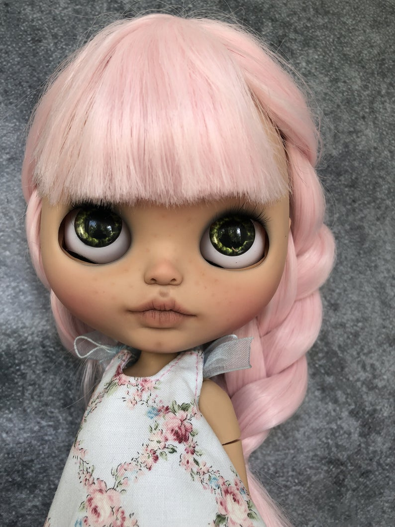 Antoinette - Custom Blythe Doll One-Of-A-Kind OOAK Sold-out Custom Blythes
