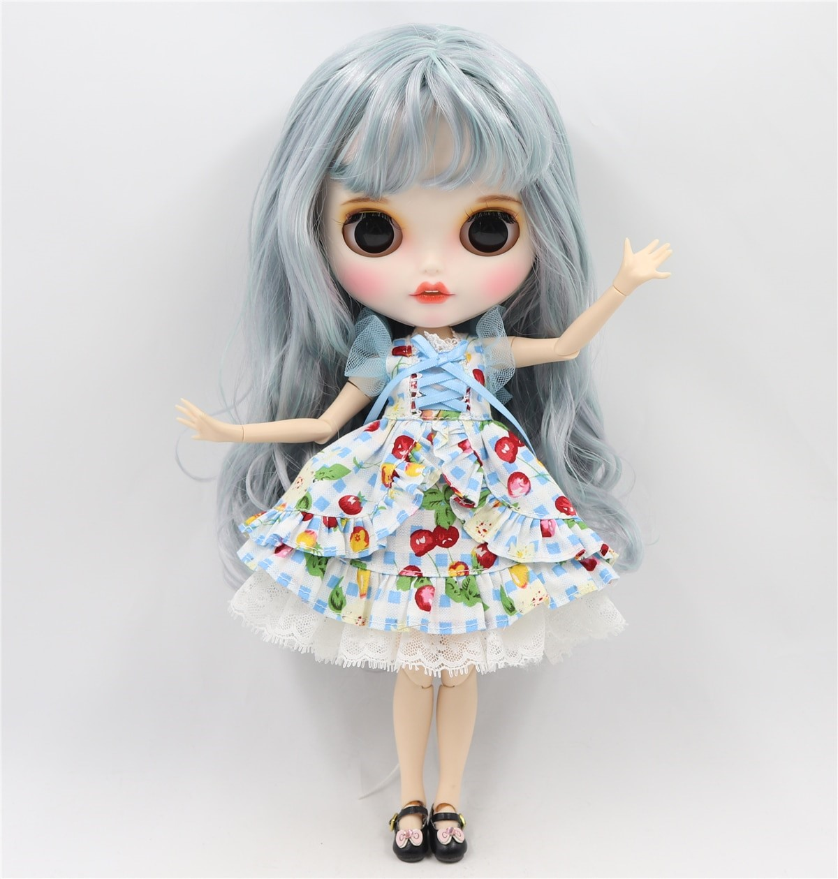 Lizzie - Premium Custom Blythe Doll with Clothes Smiling Face Premium Blythe Dolls 🆕 Smiling Face