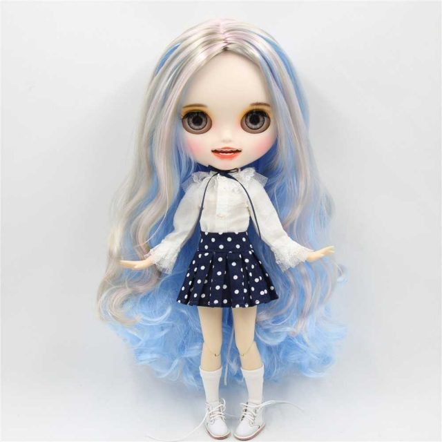 Lynette – Premium Custom Blythe Doll with Clothes Smiling Face