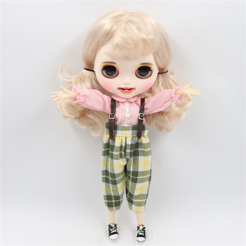 Mara - Premium Custom Blythe Doll with Clothes Smiling Face Premium Blythe Dolls 🆕 Smiling Face