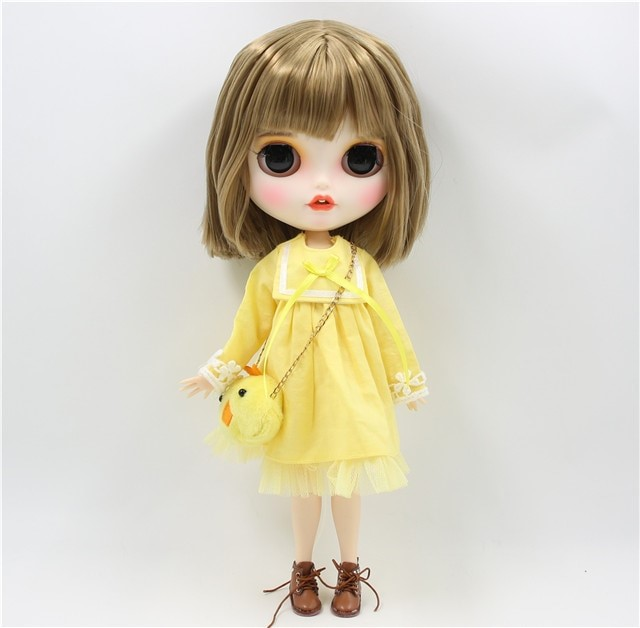 Pansy - Premium Custom Blythe Doll with Clothes Smiling Face Premium Blythe Dolls 🆕 Smiling Face
