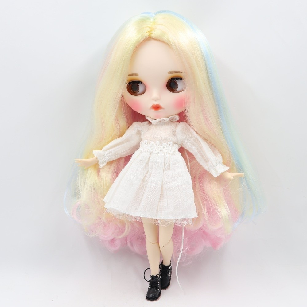Rylee – Premium Custom Blythe Doll with Clothes Pouty Face Pouty Face Premium Blythe Dolls 🆕