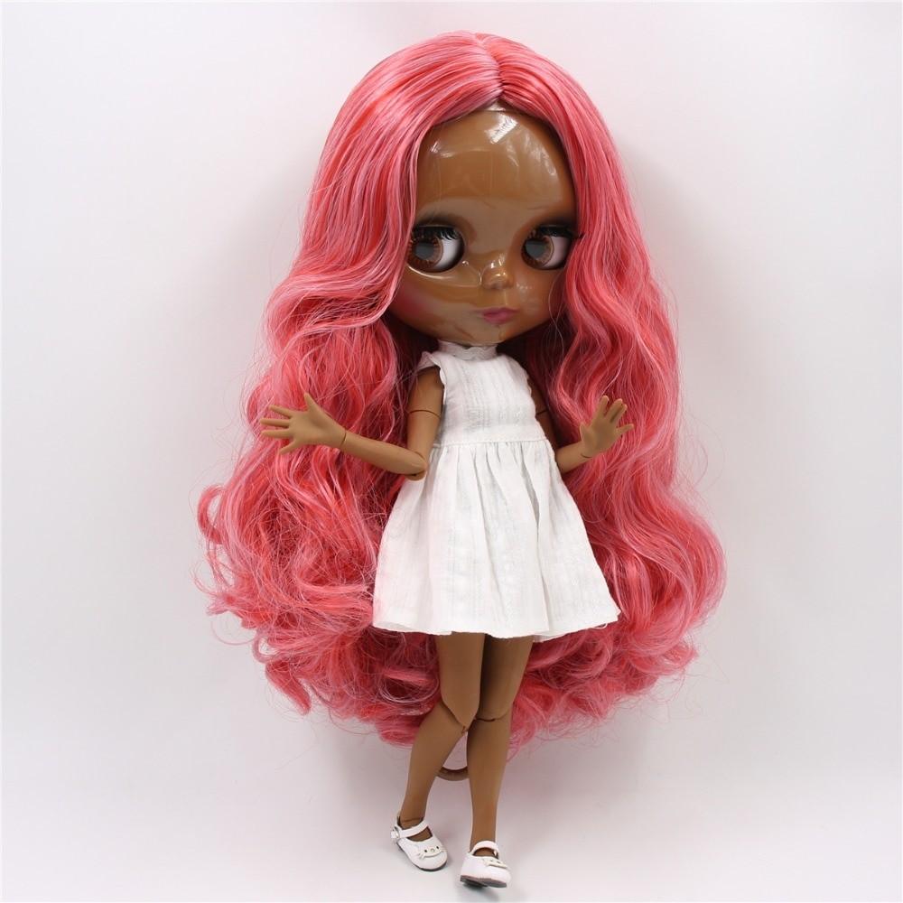 Norah – Premium Custom Blythe Doll with Clothes Cute Face Red Hair Blythe