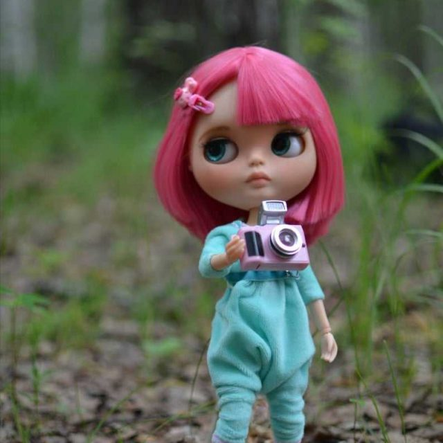 Beatrice – Custom Blythe Doll One-Of-A-Kind OOAK