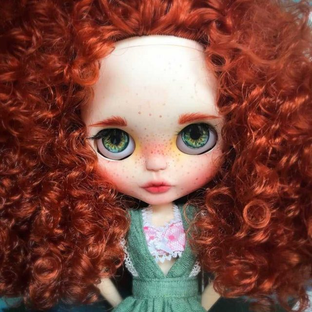 Scarlet – Custom Blythe Doll One-Of-A-Kind OOAK