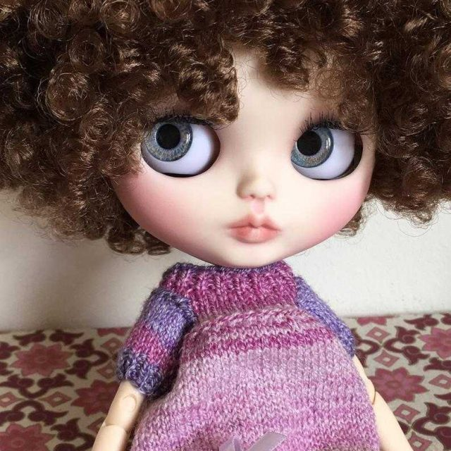 Amelie – Custom Blythe Doll One-Of-A-Kind OOAK