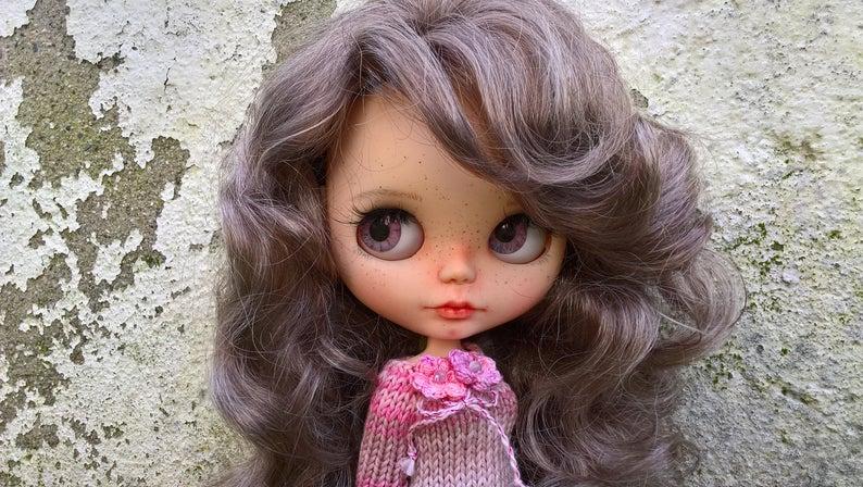 Nancy - Custom Blythe Doll One-Of-A-Kind OOAK Sold-out Custom Blythes