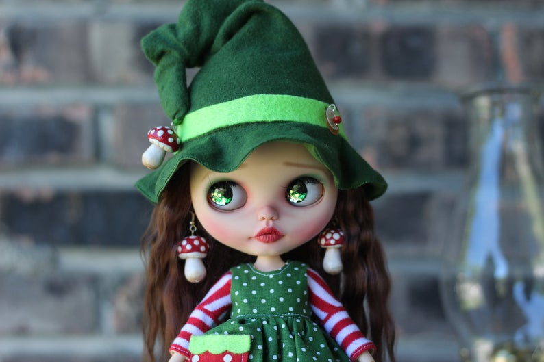 Dominique - Custom Blythe Doll One-Of-A-Kind OOAK Sold-out Custom Blythes