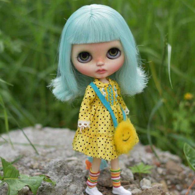 Dominica – Custom Blythe Doll One-Of-A-Kind OOAK