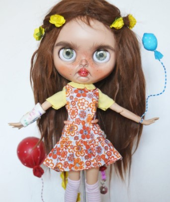 Donna - Custom Blythe Doll One-Of-A-Kind OOAK Sold-out Custom Blythes