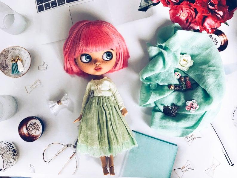 Dorene - Custom Blythe Doll One-Of-A-Kind OOAK Sold-out Custom Blythes