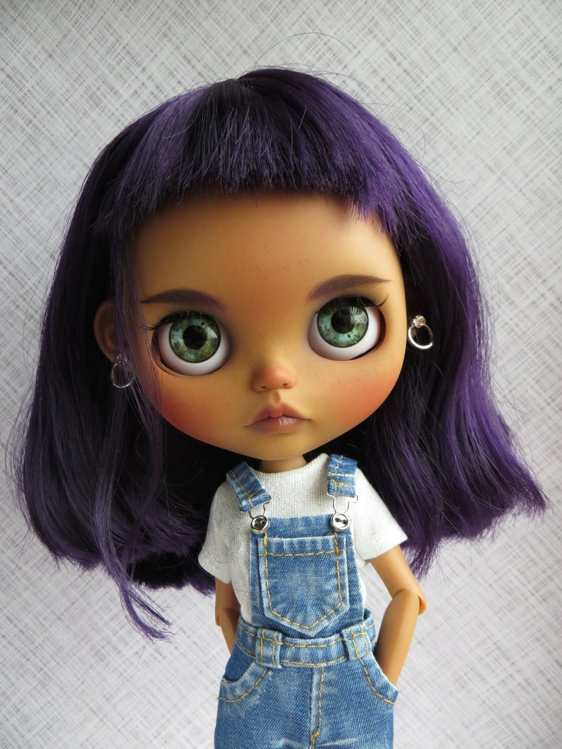 Genevieve - Custom Blythe Doll One-Of-A-Kind OOAK Sold-out Custom Blythes