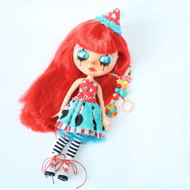 Lola – Custom Blythe Doll One-Of-A-Kind OOAK