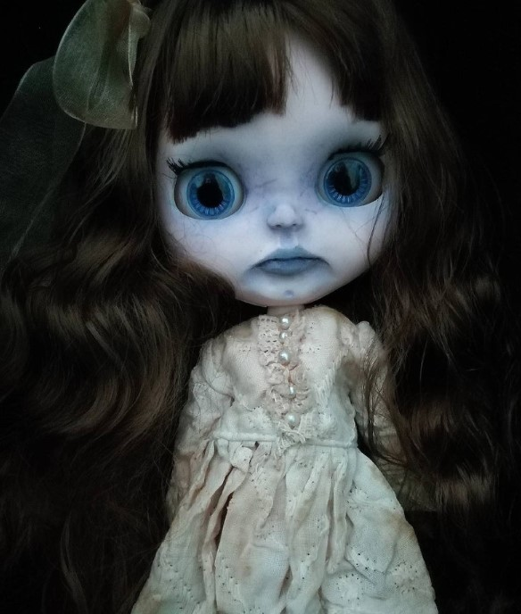 Amelia - Custom Blythe Doll One-Of-A-Kind OOAK Sold-out Custom Blythes