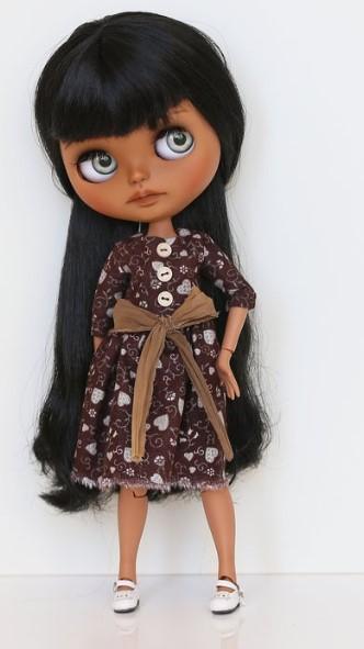 Scarlett – Custom Blythe Doll One-Of-A-Kind OOAK