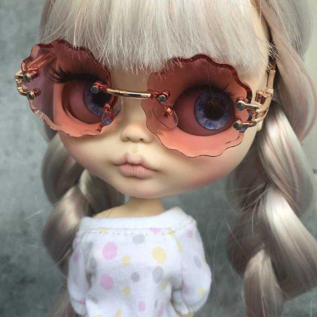 Netta – Custom Blythe Doll One-Of-A-Kind OOAK