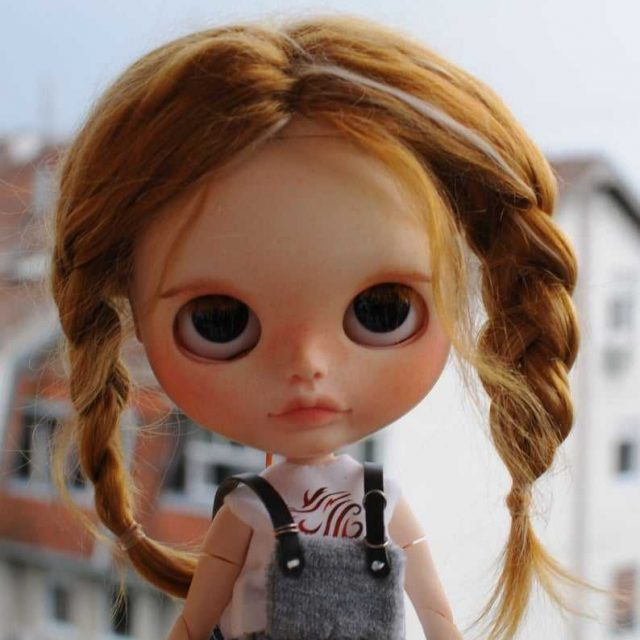 Lana – Custom Blythe Doll One-Of-A-Kind OOAK