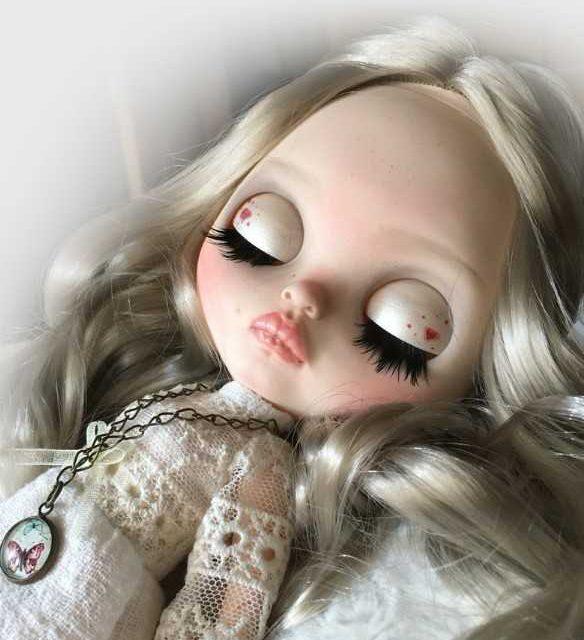 Arabelle - Custom Blythe lutka OOAK