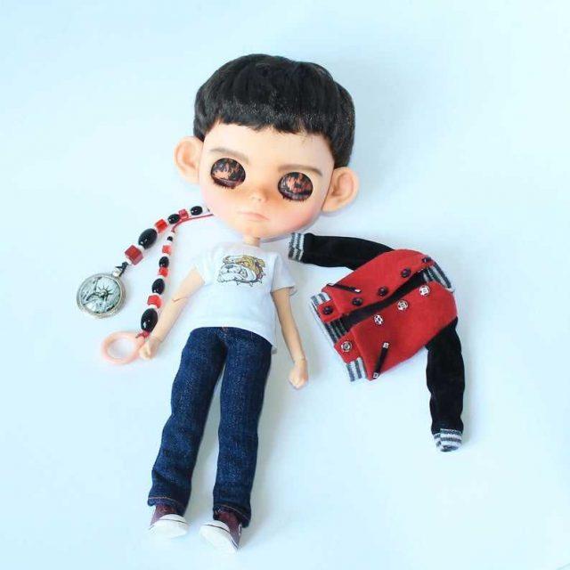 Andy - Custom Blythe Doll OOAK