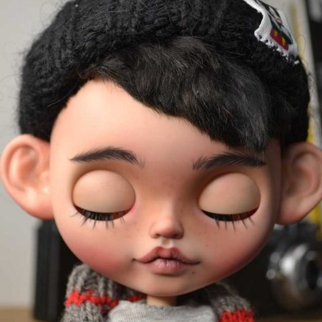 Alex – Custom Blythe Doll One-Of-A-Kind OOAK