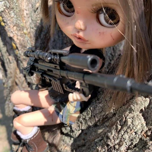 Annabelle – Custom Blythe Doll One-Of-A-Kind OOAK