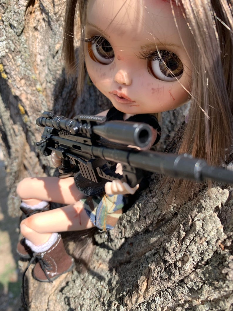 Annabelle - Custom Blythe Doll One-Of-A-Kind OOAK Sold-out Custom Blythes