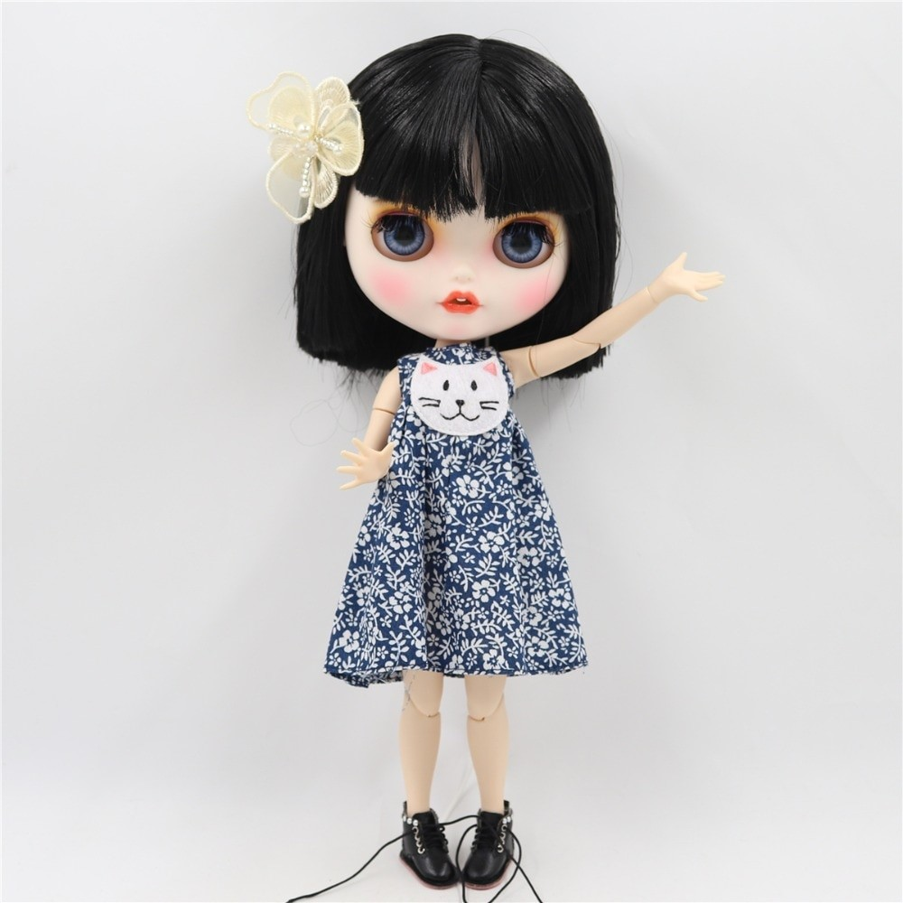 May - Premium Custom Blythe Doll with Clothes Smiling Face Premium Blythe Dolls 🆕 Smiling Face