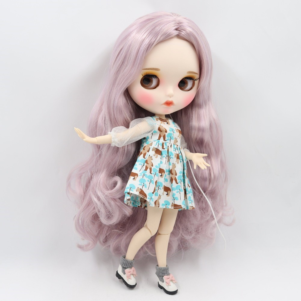 Adeline – Premium Custom Blythe Doll with Clothes Pouty Face Pouty Face Premium Blythe Dolls 🆕