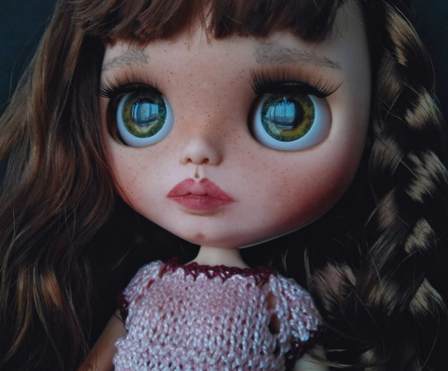 Malta – Custom Blythe Doll One-Of-A-Kind OOAK