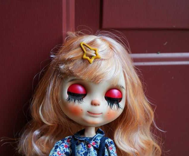 Apple – Custom Blythe Doll One-Of-A-Kind OOAK