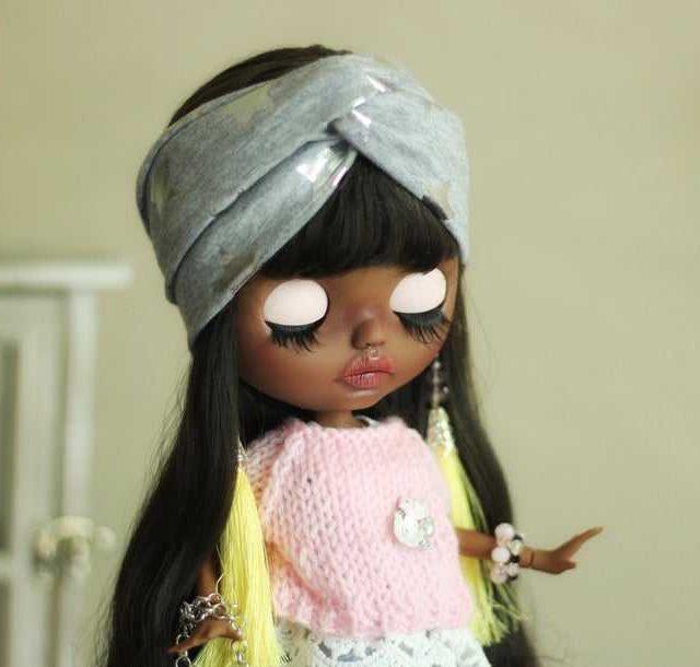 Danielle – Custom Blythe Doll One-Of-A-Kind OOAK