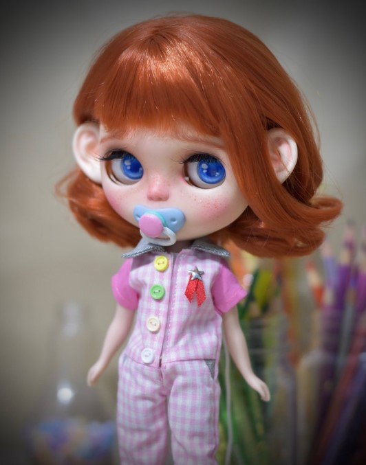 Daniela - Custom Blythe Doll One-Of-A-Kind OOAK Sold-out Custom Blythes