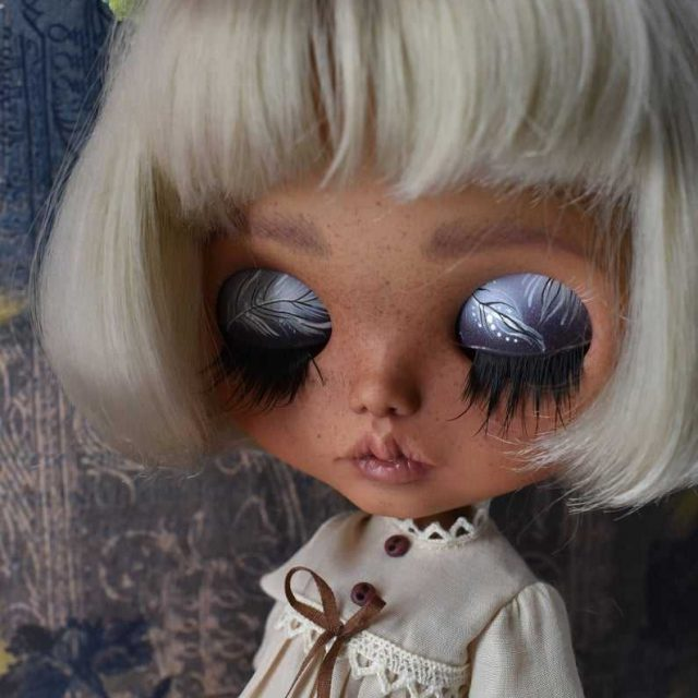 Dolores – Custom Blythe Doll One-Of-A-Kind OOAK
