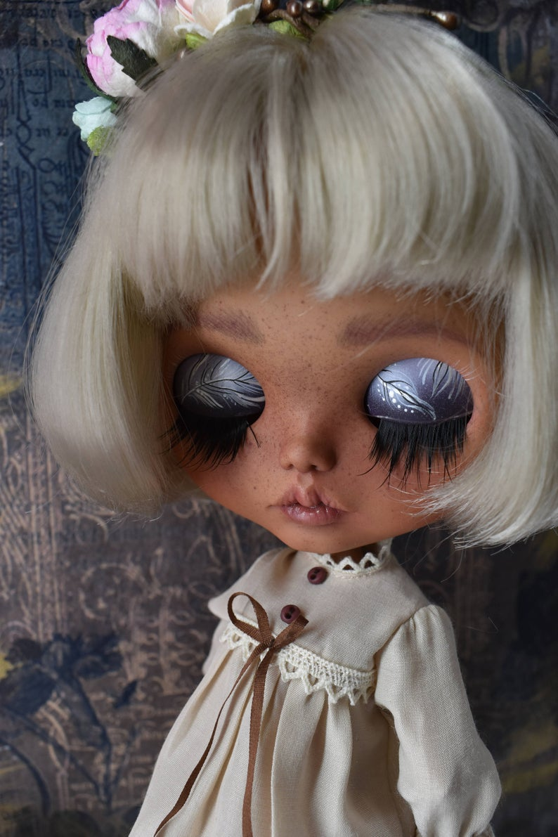 Dolores - Custom Blythe Doll One-Of-A-Kind OOAK Sold-out Custom Blythes