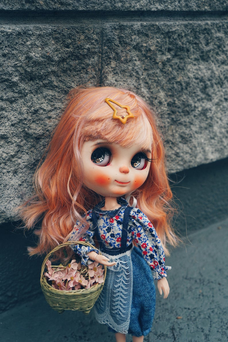 Apple - Custom Blythe Doll One-Of-A-Kind OOAK Sold-out Custom Blythes